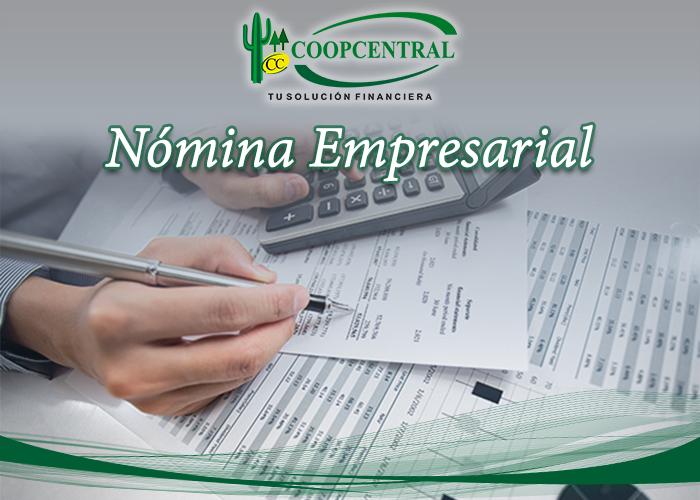 Nomina Empresarial Coopcentral